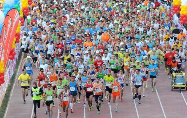 Imagen del Maratón de Sevilla de 2012