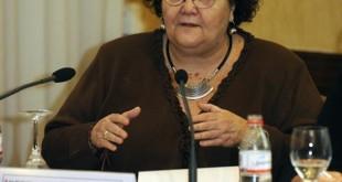 Amalia Gómez, presidenta de Cruz Roja en Sevilla