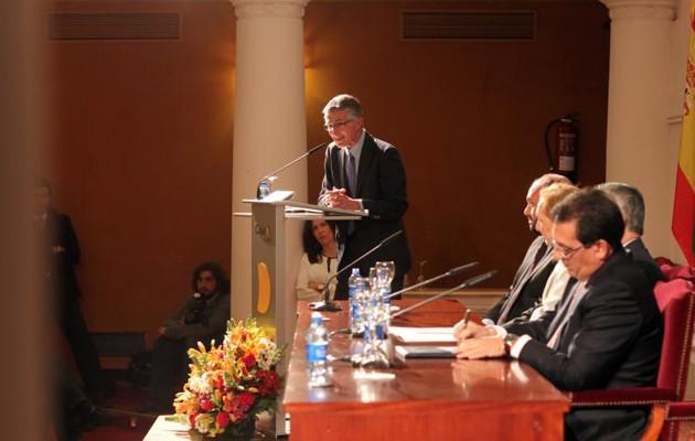 Rafael Rodríguez, presidente de la Asociación de Prensa de Sevilla en una imagen de archivo