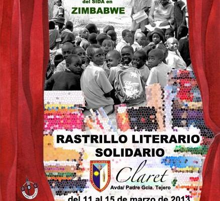 Cartel del Rastrillo Literario Solidario