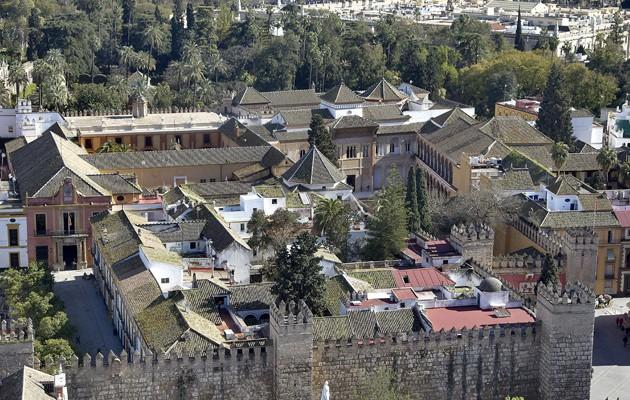 Vistas desde la Giralda del Alcazar /J.M.SERRANO