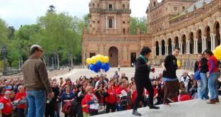 ASAENES graba un videoclip por su 25 aniversario /L.Álvarez