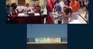 Imágenes de la huelga de hambre colgadas por Avain en su página web