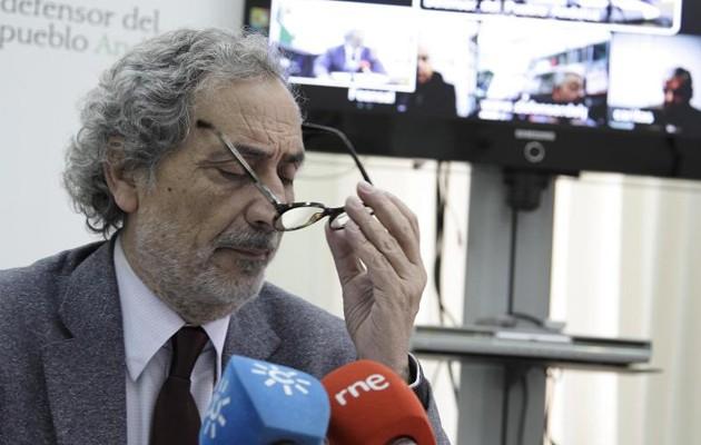 El Defensor del Pueblo Andaluz en una imagen de archivo