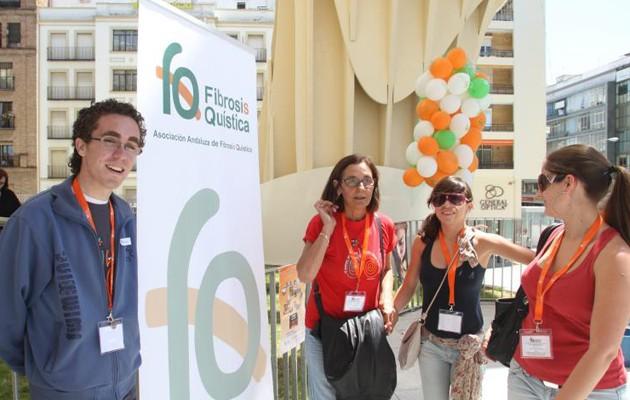 La Asociación Andaluza de Fibrosis Quística, en una imagen de archivo