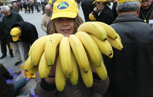 352.000 kilos de plátanos que serán repartidos por España