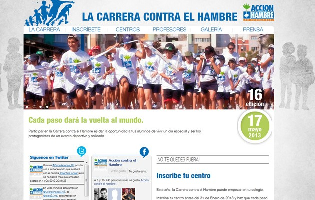 Captura de la web de la iniciativa