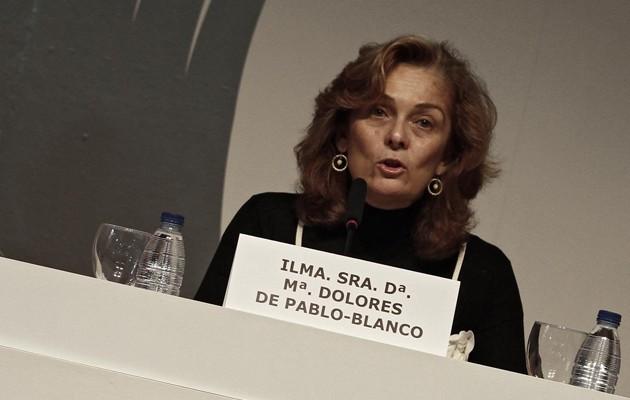 La concejal de Familia, Asuntos Sociales y Zonas de Especial Actuación, Dolores de Pablo-Blanco, en una imagen de archivo