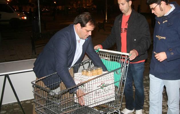 Cuatro colectivos sociales recibirán donaciones de los menús de Feria