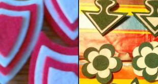 Escudos de fieltro de los equipos de fútbol de Sevilla