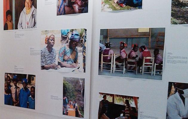 Exposición fotográfica en la Casa de la Provincia sobre la labor de las organizaciones sevillanas en los países más necesitados
