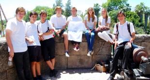 Voluntairos de Soñar Despierto, en Isla Mágica