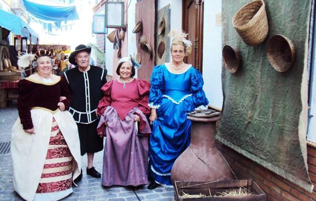 El Mercado Barroco de Olivares en una imagen de archivo