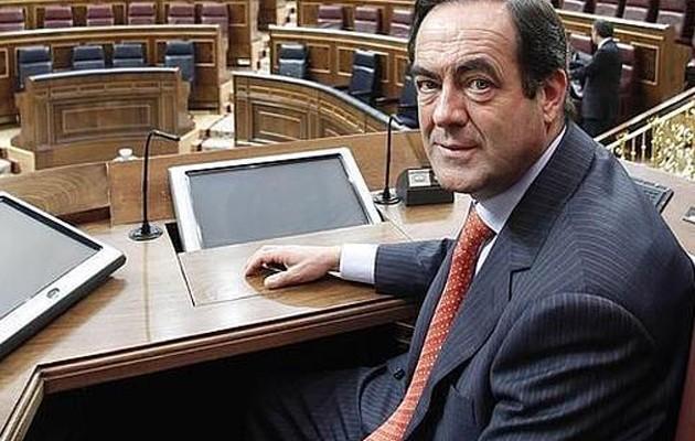 José Bono en el Congreso de los Diputados /  JOSE RAMON LADRA