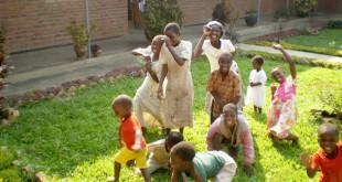 Niños jugando en Mtendere / Fundación Solidaridad Candelaria