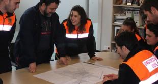 Un grupo de voluntarios de Protección Civil / A. F.