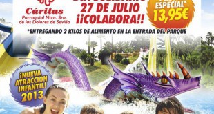 Cartel del Día Solidario de Aquópolis