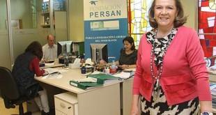 La presidenta de la Fundación Persán, Concha Yoldi / Rocío Ruz