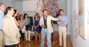 Exposición de Autismo Sevilla que tuvo lugar en la sede de la Fundación Valentín de Madariaga