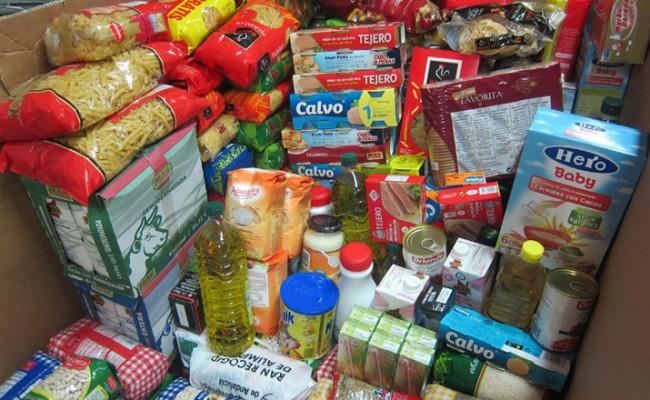 Recogida de alimentos en Miraflores