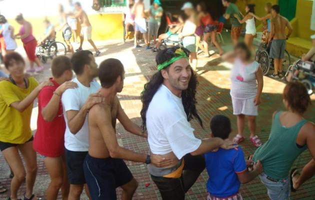 Los chicos disfrutan en actividades en Sanlúcar de otros años