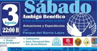 Ambigú solidario de Manos Unidas