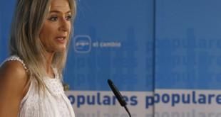 La parlamentaria del PP por Sevilla, Patricia del Pozo / Raúl Doblado