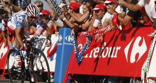 Carrefour es patrocinador oficial de la Vuelta Ciclista a España - EFE/Javier Lizón