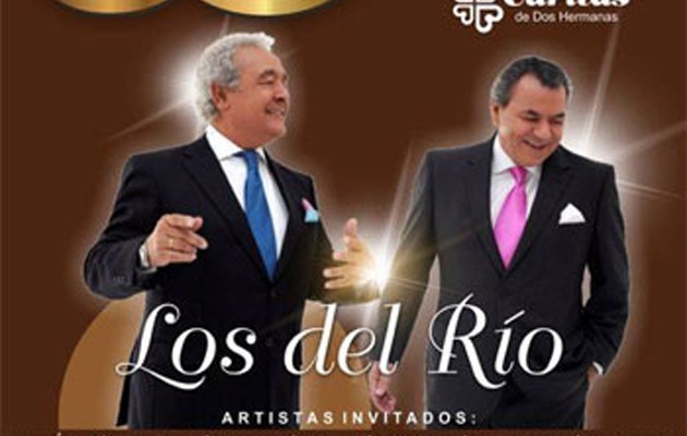 Cartel de Concierto 20 Aniversario de Los del Río