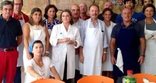 Voluntarios del comedor el primer de este nuevo curso