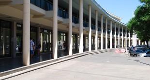 Edificio de Huerta Palacios, donde Asemfa ofrece sus servicios en Dos Hermanas / L. M.