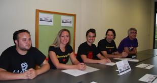 Organizadores del I Festival Solidario durante su presentación / Autor: L.M.