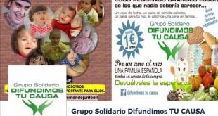 Grupo Solidario Difundimos tu causa