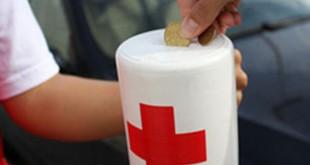 Hucha Día de la Banderita Cruz Roja