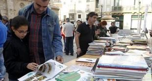 Mercadillo de libros usados