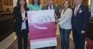 Zoido preside el acto del Dia Mundial contral el cancer de mama