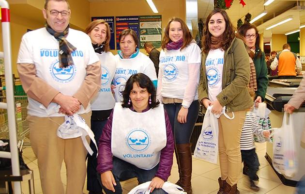 Voluntarios en la Gran Recogida de Alimentos de 2013 / L.A.