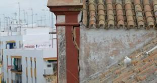 El Monasterio presenta múltiples grietas de gravedad / Facebook Restauración de la Iglesia de Santa Catalina de Sevilla