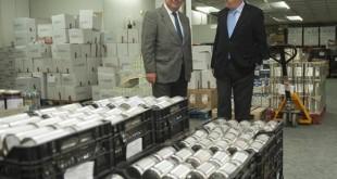 Este lunes BBVA y la Fundación Banco de Alimentos de Sevilla han firmado el acuerdo de colaboración