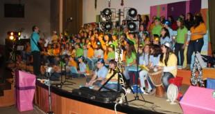 El coro del colegio Jacarandá