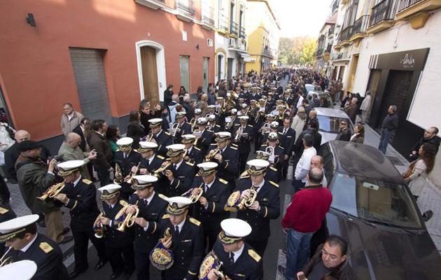 Desfile del II Congreso de Bandas el pasado año