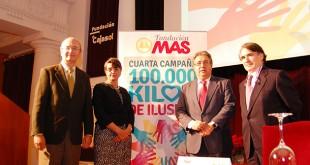 La Fundación MAS reparte 100.000 kilos de alimentos entre los más necesitados