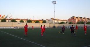 Campo de Fútbol Municipal Miguel Román donde tendrá lugar la campaña solidaria / L. M.