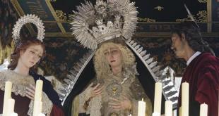 La Virgen del Sol en su paso de palio / Jesús Spínola