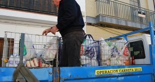 Varias campañas de recogidas de alimentos recorren este sábado las calles de Dos Hermanas
