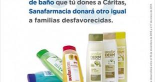 Campaña de recogida de productos de higiene en la sanafarmacia Ciudad Expo