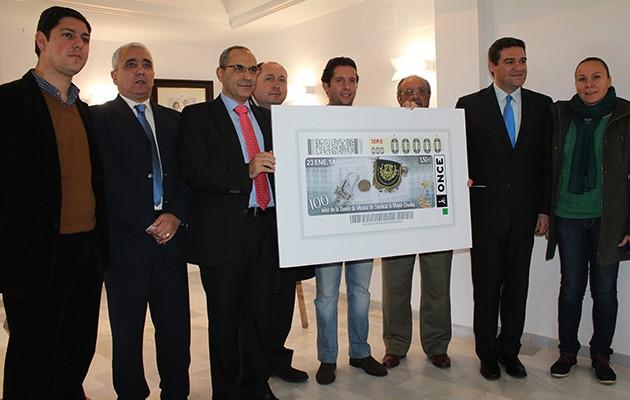 Un cupón de la ONCE homenajea al centenario de la Banda de Música de Sanlúcar la Mayor