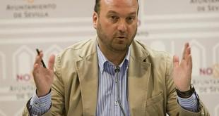Francisco Pérez, portavoz del Ayuntamiento de Sevilla / Díaz Japón