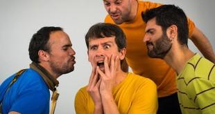 Ruido Pegajoso en una imagen del videoclip de «Supervagabundo» / Foto: José Wela