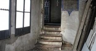Estado de una de las dependencias del monasterio de San Leandro / ABC